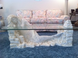 Living room furniture estate sale Mermaid coffee table